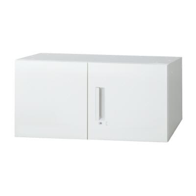 PLUS(プラス)オフィス家具 L6 両開き保管庫 W(幅)800 D(奥行き)450 H(高さ)400