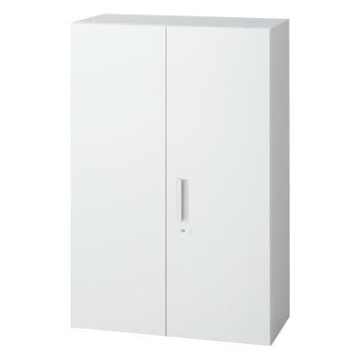 PLUS(プラス)オフィス家具 L6 両開き保管庫 W(幅)800 D(奥行き)450 H(高さ)1210