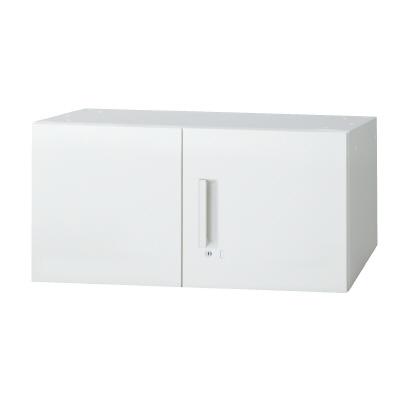 PLUS(プラス)オフィス家具 L6 両開き保管庫 W(幅)800 D(奥行き)400 H(高さ)400