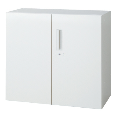 PLUS(プラス)オフィス家具 L6 両開き保管庫 W(幅)800 D(奥行き)400 H(高さ)720