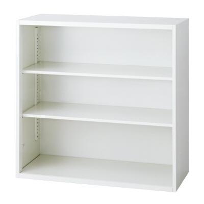 PLUS(プラス)オフィス家具 L6 オープン保管庫 W(幅)900 D(奥行き)450 H(高さ)890