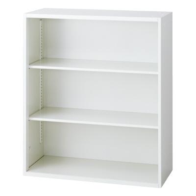 PLUS(プラス)オフィス家具 L6 オープン保管庫 W(幅)900 D(奥行き)450 H(高さ)1050