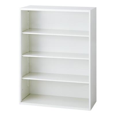 PLUS(プラス)オフィス家具 L6 オープン保管庫 W(幅)900 D(奥行き)450 H(高さ)1210