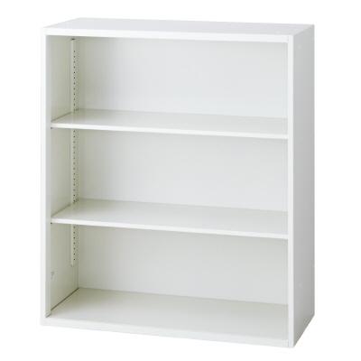 PLUS(プラス)オフィス家具 L6 オープン保管庫 W(幅)900 D(奥行き)400 H(高さ)1050