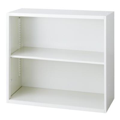 PLUS(プラス)オフィス家具 L6 オープン保管庫 W(幅)800 D(奥行き)450 H(高さ)720
