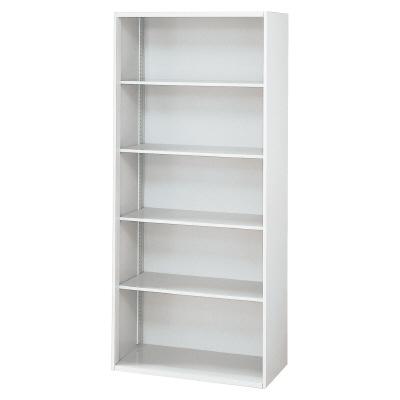 PLUS(プラス)オフィス家具 L6 オープン保管庫 W(幅)800 D(奥行き)400 H(高さ)1770