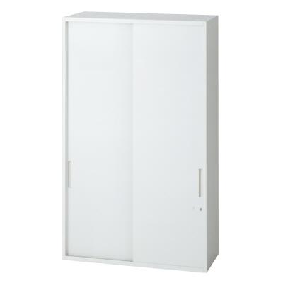 PLUS(プラス)オフィス家具 L6 2枚引違い保管庫 W(幅)900 D(奥行き)500 H(高さ)1210