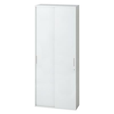 PLUS(プラス)オフィス家具 L6 2枚引違い保管庫 W(幅)900 D(奥行き)450 H(高さ)1770