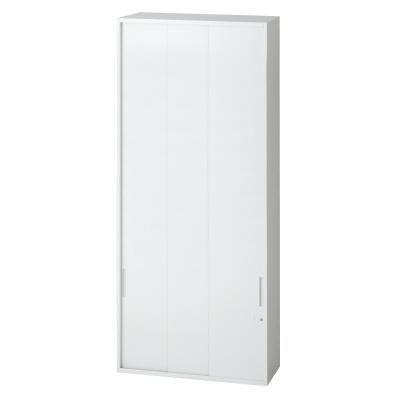 PLUS(プラス)オフィス家具 L6 3枚引違い保管庫 W(幅)900 D(奥行き)450 H(高さ)2100
