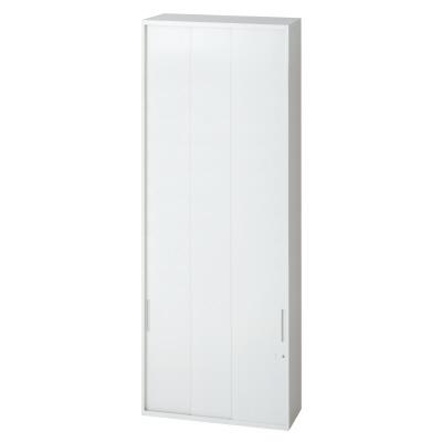 PLUS(プラス)オフィス家具 L6 3枚引違い保管庫 W(幅)800 D(奥行き)400 H(高さ)2100