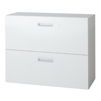 PLUS(プラス)オフィス家具 L6 ラテラルファイリングキャビネット W(幅)900 D(奥行き)400 H(高さ)720