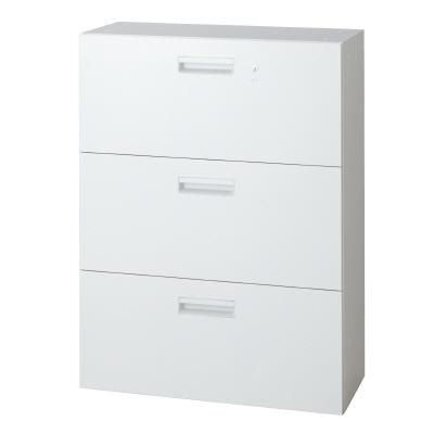 PLUS(プラス)オフィス家具 L6 ラテラルファイリングキャビネット W(幅)800 D(奥行き)450 H(高さ)1050