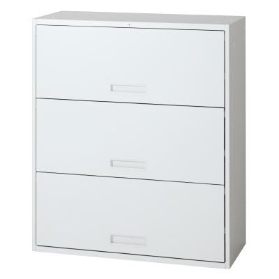 PLUS(プラス)オフィス家具 L6 オープンラテラルキャビネット W(幅)900 D(奥行き)400 H(高さ)1050