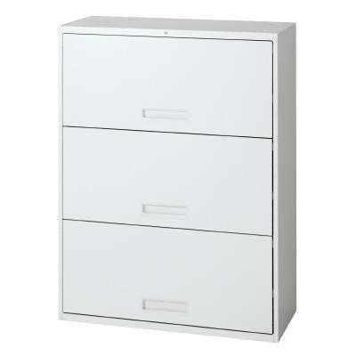 PLUS(プラス)オフィス家具 L6 オープンラテラルキャビネット W(幅)800 D(奥行き)450 H(高さ)1050