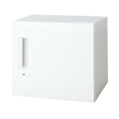 PLUS(プラス)オフィス家具 L6 片開き保管庫 W(幅)450 D(奥行き)450 H(高さ)400