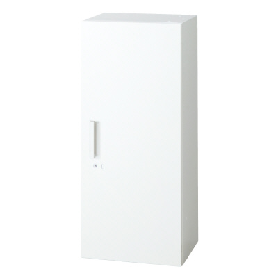 PLUS(プラス)オフィス家具 L6 片開き保管庫 W(幅)400 D(奥行き)450 H(高さ)1050