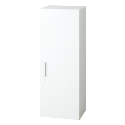 PLUS(プラス)オフィス家具 L6 片開き保管庫 W(幅)400 D(奥行き)450 H(高さ)1210