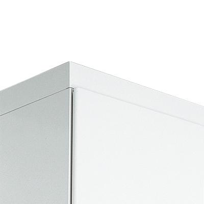 PLUS(プラス)オフィス家具 L6 笠木 W(幅)400 D(奥行き)450 H(高さ)