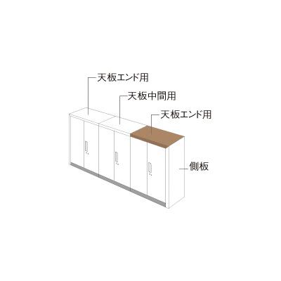 PLUS(プラス)オフィス家具 L6 ナチュラルパネル W900 × D 450 片面用 W(幅)900 D(奥行き)450 H(高さ)30