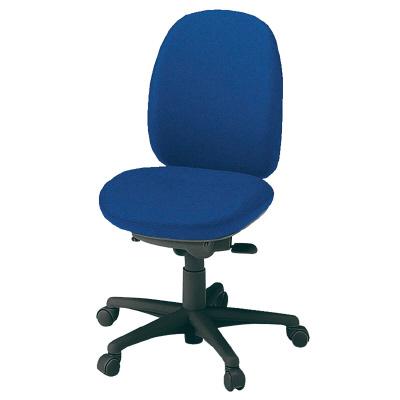 PLUS(プラス)オフィス家具 防炎仕様クロスチェア 950II SERIES 肘なし ハイバック W(幅) D(奥行き) H(高さ)