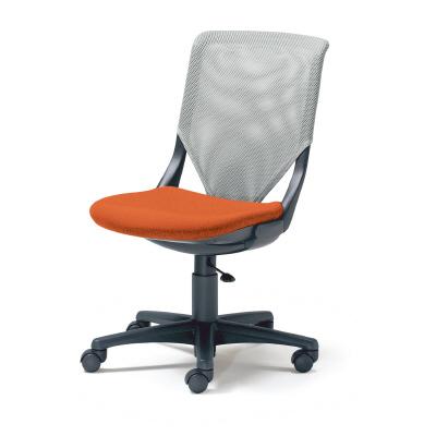 PLUS(プラス)オフィス家具 KAINOS メッシュタイプ 回転脚タイプ・肘なし W(幅)596 D(奥行き)628 H(高さ)