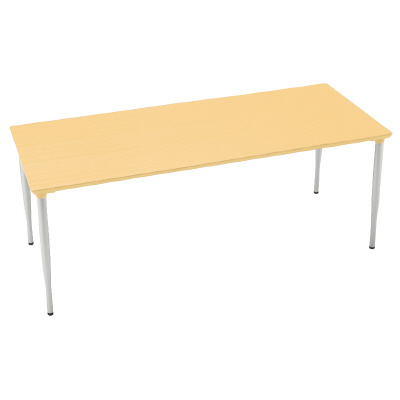 PLUS(プラス)オフィス家具 XM H 720 タイプ/配線孔なし W(幅)1800 D(奥行き)750 H(高さ)720