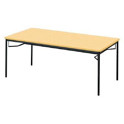 PLUS(プラス)会議テーブル/ミーティングテーブル/YB2・YB2 会議テーブル YB-630 WM/BK