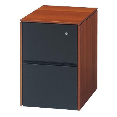 PLUS(プラス)オフィス家具 D8 キャビネット(2段) W(幅)446 D(奥行き)609 H(高さ)650