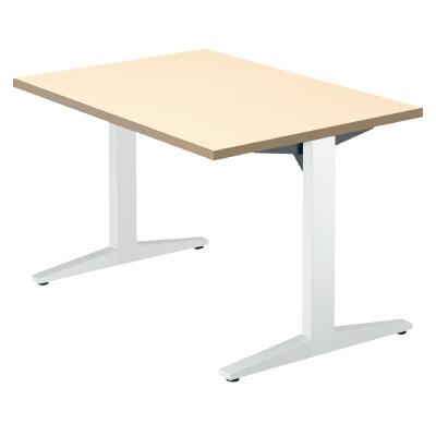 PLUS(プラス)会議テーブル/ミーティングテーブル/STAGEO・ステージオ 会議テーブル ST-120TR WM/W4