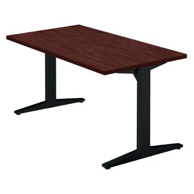 PLUS(プラス)オフィス家具 STAGEO テーブル(長方形) W(幅)1400 D(奥行き)750 H(高さ)720