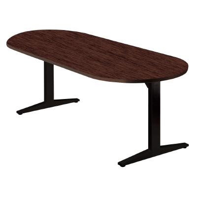 PLUS(プラス)オフィス家具 STAGEO テーブル(ボート長円形) W(幅)1800 D(奥行き)900 H(高さ)720