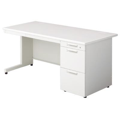 PLUS(プラス)デスク/スタンダードデスク/LEED Desk・リード 片袖机 LE-157A-3 WS/W4