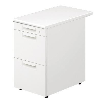 PLUS(プラス)デスク/スタンダードデスク/LEED Desk・リード 脇机 LE-047A-3 WS/W4
