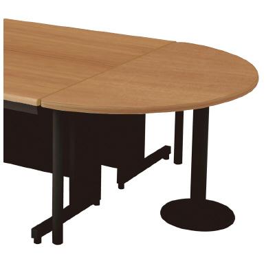 PLUS(プラス)リード 半円形テーブル LE-7DT-HR T2/BK