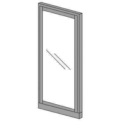 PLUS(プラス)オフィス家具 KIパネル(ガラス) H2000 W(幅)900 D(奥行き)50 H(高さ)2000