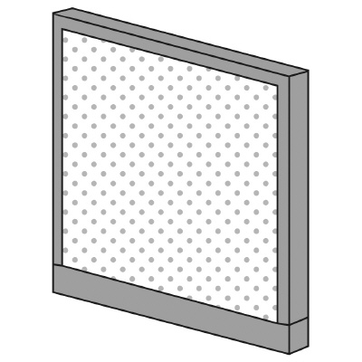 PLUS(プラス)オフィス家具 KIパネル(光触媒クロス) H900 W(幅)800 D(奥行き)50 H(高さ)900