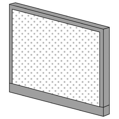 PLUS(プラス)オフィス家具 KIパネル(光触媒クロス) H900 W(幅)1000 D(奥行き)50 H(高さ)900