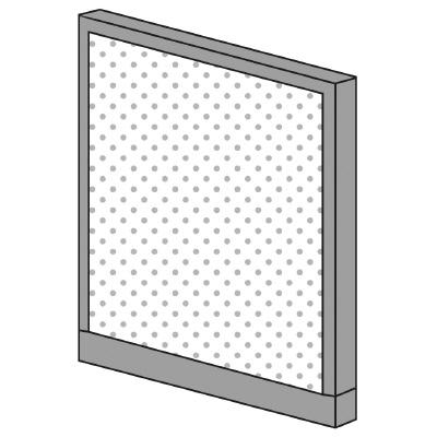 PLUS(プラス)オフィス家具 KIパネル(光触媒クロス) H1025 W(幅)800 D(奥行き)50 H(高さ)1025