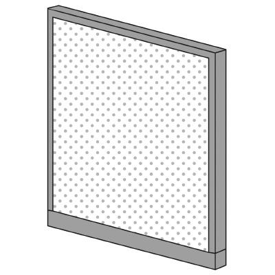 PLUS(プラス)オフィス家具 KIパネル(光触媒クロス) H1250 W(幅)1000 D(奥行き)50 H(高さ)1250