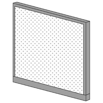 PLUS(プラス)オフィス家具 KIパネル(光触媒クロス) H1250 W(幅)1200 D(奥行き)50 H(高さ)1250
