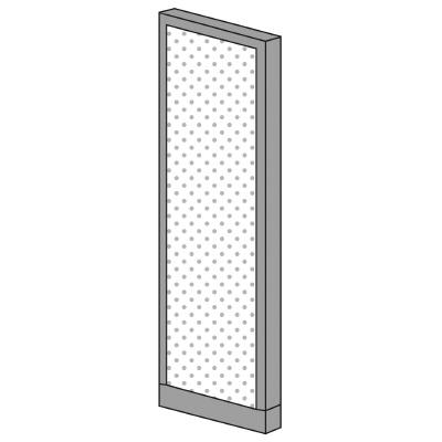 PLUS(プラス)オフィス家具 KIパネル(光触媒クロス) H1600 W(幅)450 D(奥行き)50 H(高さ)1600