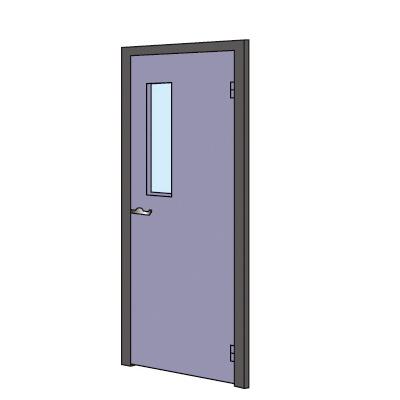 PLUS(プラス)オフィス家具 KIパネル ドアパネル(錠付) 窓付クロス貼り(光触媒クロス) W(幅)900 D(奥行き)50 H(高さ)2000