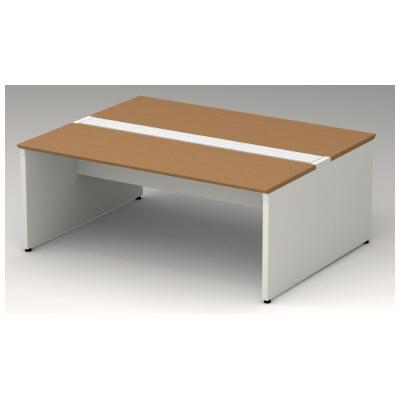 PLUS(プラス)オフィス家具 STAGEO FREE type-W 両面ベースセット W(幅)1800 D(奥行き)1400 H(高さ)720