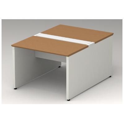 PLUS(プラス)オフィス家具 STAGEO FREE type-W 両面ベースセット W(幅)1000 D(奥行き)1400 H(高さ)720