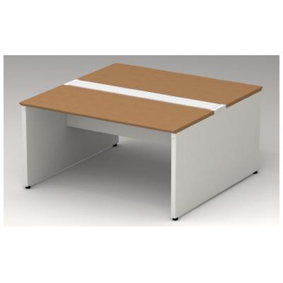 PLUS(プラス)オフィス家具 STAGEO FREE type-W 両面ベースセット W(幅)1400 D(奥行き)1200 H(高さ)720