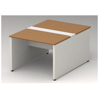 PLUS(プラス)オフィス家具 STAGEO FREE type-W 両面ベースセット W(幅)1000 D(奥行き)1200 H(高さ)720