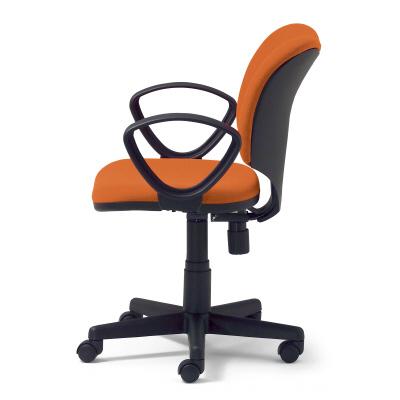 PLUS(プラス)オフィス家具 Prop スタンダードタイプ ループ肘付 標準仕様ナイロンキャスター W(幅)562 D(奥行き)576 H(高さ)