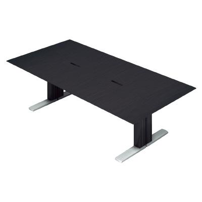 PLUS(プラス)オフィス家具 XF EXECUTIVE 大型会議テーブル W(幅)2400 D(奥行き)1200 H(高さ)720