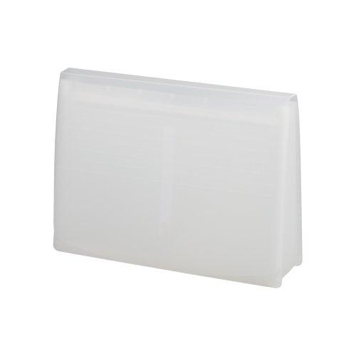 リヒトラブエクスパンディングファイル ついに再販開始 A5050-1 A4 定価 milk white 送料無料 リヒトラブ 乳白 30セット エクスパンディングファイル 単価673円