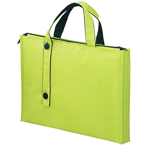 リヒトラブ キャリングバッグ 2WAY A7650-6 黄緑(10セット)